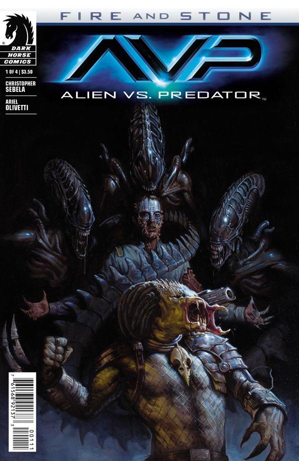 Alien vs Predator Fire and Stone 1  Profile  Dark Horse Comics