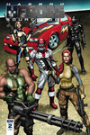 Hasbro Heroes Sourcebook #2 (of 3) (Retailer 10 Copy Incentive Variant Cover Edition)