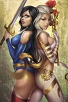 Grimm Fairy Tales vs. Wonderland #4 (of 4) (Cover C - Pessanha)