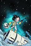 DF Princess Leia #1 Rare Young Variant Sgn