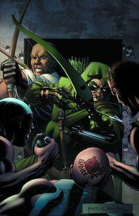 Convergence Green Arrow #1