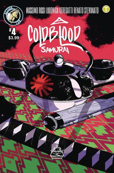 APR191270 ComicList Previews: COLD BLOOD SAMURAI #4