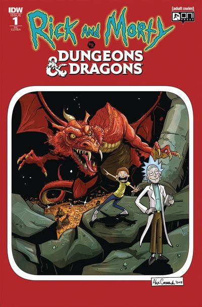DEC180777 ComicList Previews: RICK AND MORTY VS DUNGEONS AND DRAGONS #1 DIRECTOR'S CUT
