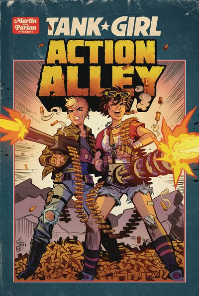 DEC182088 ComicList Previews: TANK GIRL ACTION ALLEY #3