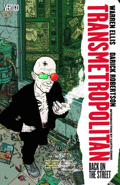 Transmetropolitan Vol. 1: Back on the Street Cover