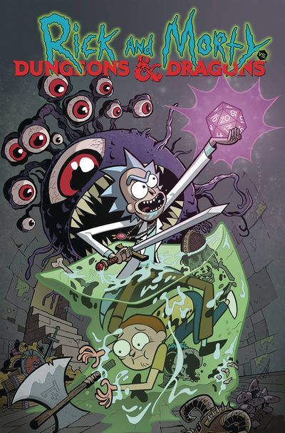 dec180776 RICK AND MORTY VS. DUNGEONS AND DRAGONS gets collected