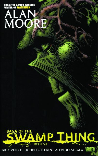 Saga of the Swamp Thing Book 6 Cover