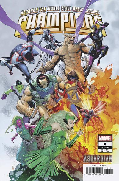 feb190848 ComicList: Marvel Comics New Releases for 04/03/2019