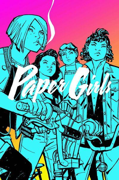 Paper Girls Vol. 1 Cover