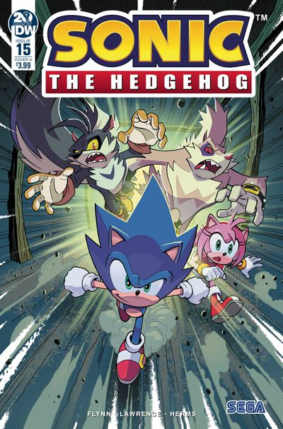 jan190808 ComicList Previews: SONIC THE HEDGEHOG #15