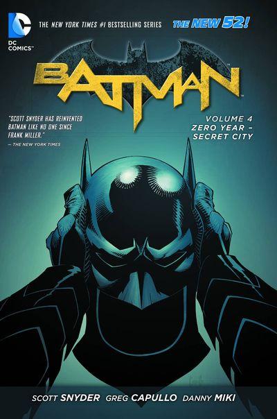Batman Vol. 4 TPB Cover