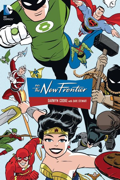 DC: The New Frontier Cover