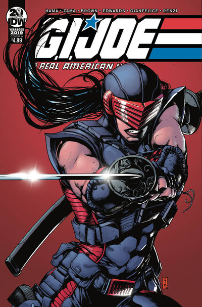 nov180695 ComicList Previews: G.I. JOE A REAL AMERICAN HERO YEARBOOK