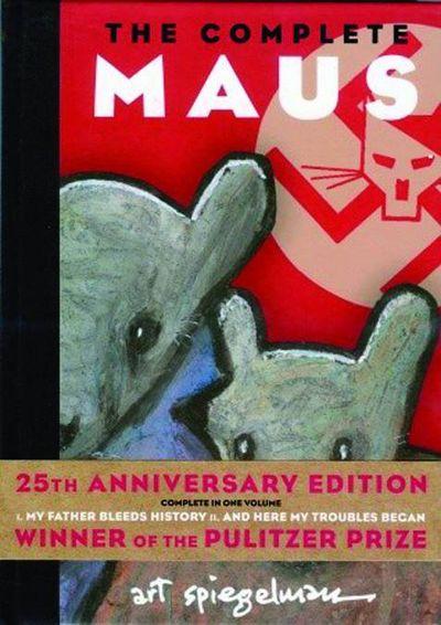 Maus: A Survivor's Tale Vol. I & II Cover
