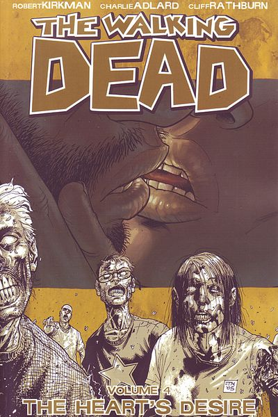 The Walking Dead TPB Vol. 4: The Heart's Desire Cover