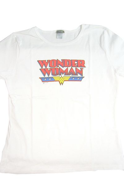 Wonder Woman T-Shirt: Logo - Women's Fit (L) @TFAW.com