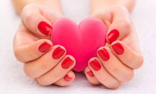 Impress Nails Valentines