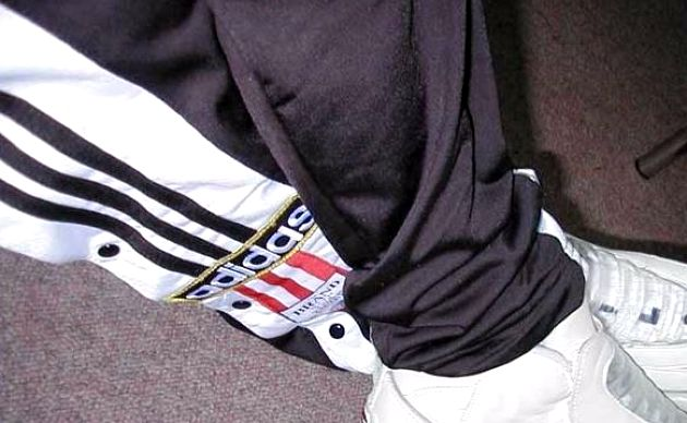 Image result for adidas trackies button