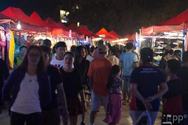 Vientiane Laos Night Market