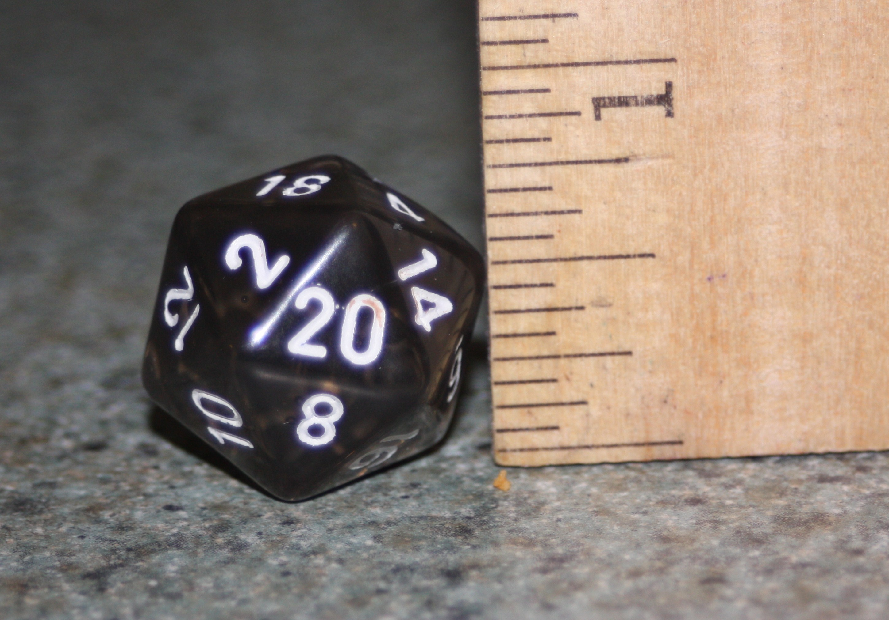How To Make A 20 Sided Dice Cake