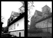 Hinter der Liebfrauenkirche