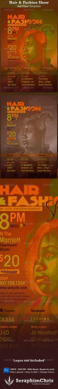 Hair Salon Brochure Design  Maydesk.com