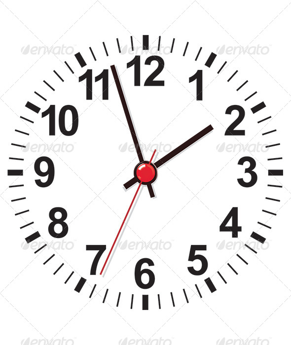 Roman Numeral Clock Face Template » Dondrup.com