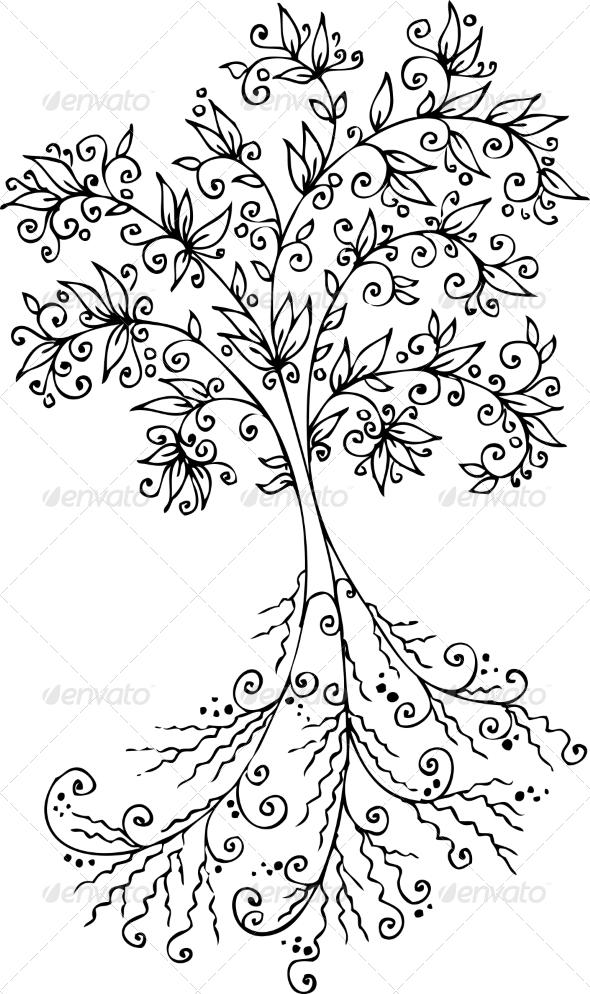 Contoh Gambar Flora : contoh, gambar, flora, Contoh, Gambar, Vignette, Flora, Dondrup.com