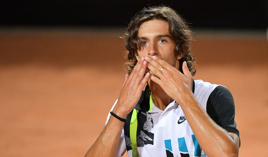 'I am really happy proud of myself.' says Lorenzo Musetti after saving four match points against Dan Evans - Tennis365