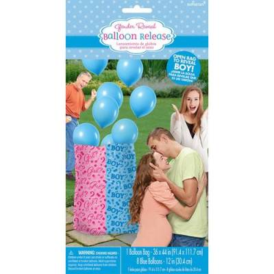 It's A Baby Boy Balloon Release Bag