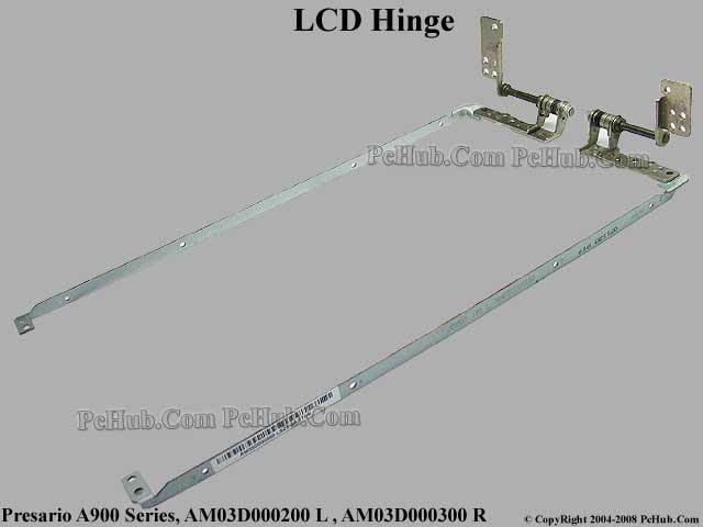 Compaq Presario A900 Series LCD Hinge AM03D000200 L