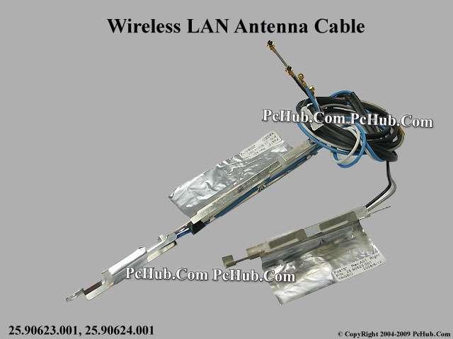 Dell Latitude E5500 Wireless Antenna Cable 25.90623.001