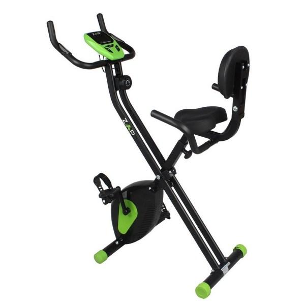 Zaap Fitness Folding Recumbent Upright Exercise Bike