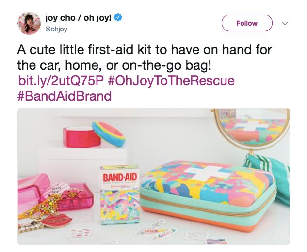 Joy Cho Brand Influencer Partnership