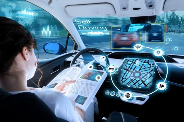 Hasil gambar untuk self driving car