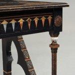 Carlo Bugatti Attributed To An Ebonized Wood And Walnut Desk Turin Italy Ca 1900 Bukowskis