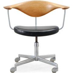 Bauhaus Swivel Chair For Desk Without Wheels Hans J Wegner Quotswivel Quot Johannes Hansen Danmark Ca