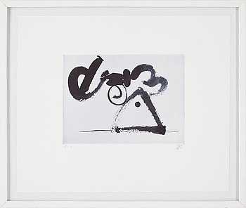 CARL FREDRIK REUTERSWÄRD, litografi, monogramsign, E.A