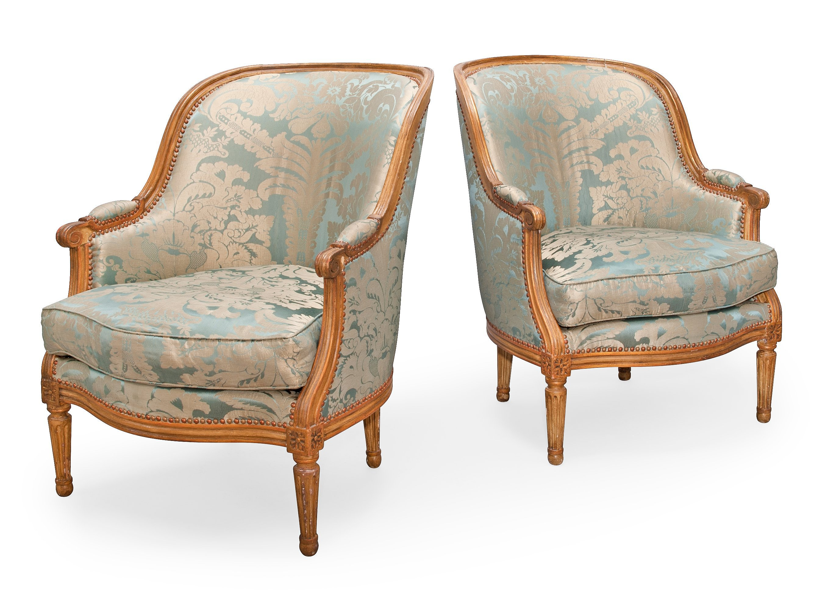 A PAIR OF BERGRE CHAIRS  Bukowskis