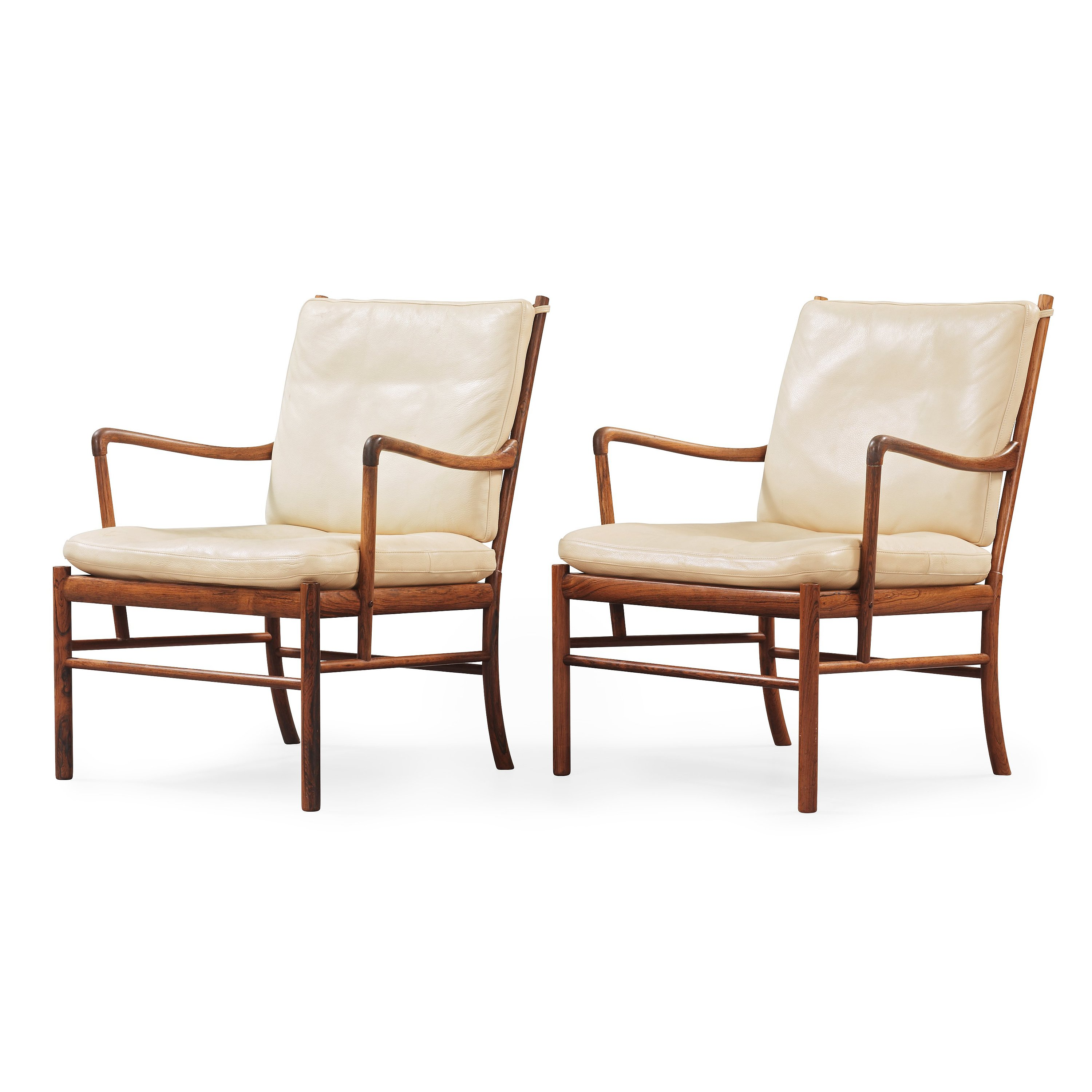 Colonial Chair A Pair Of Ole Wanscher Colonial Chair 39pj 149 39 Poul