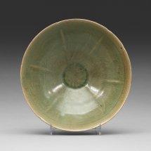 Celadon Green Glazed Bowl Korea Koryo 918-1392