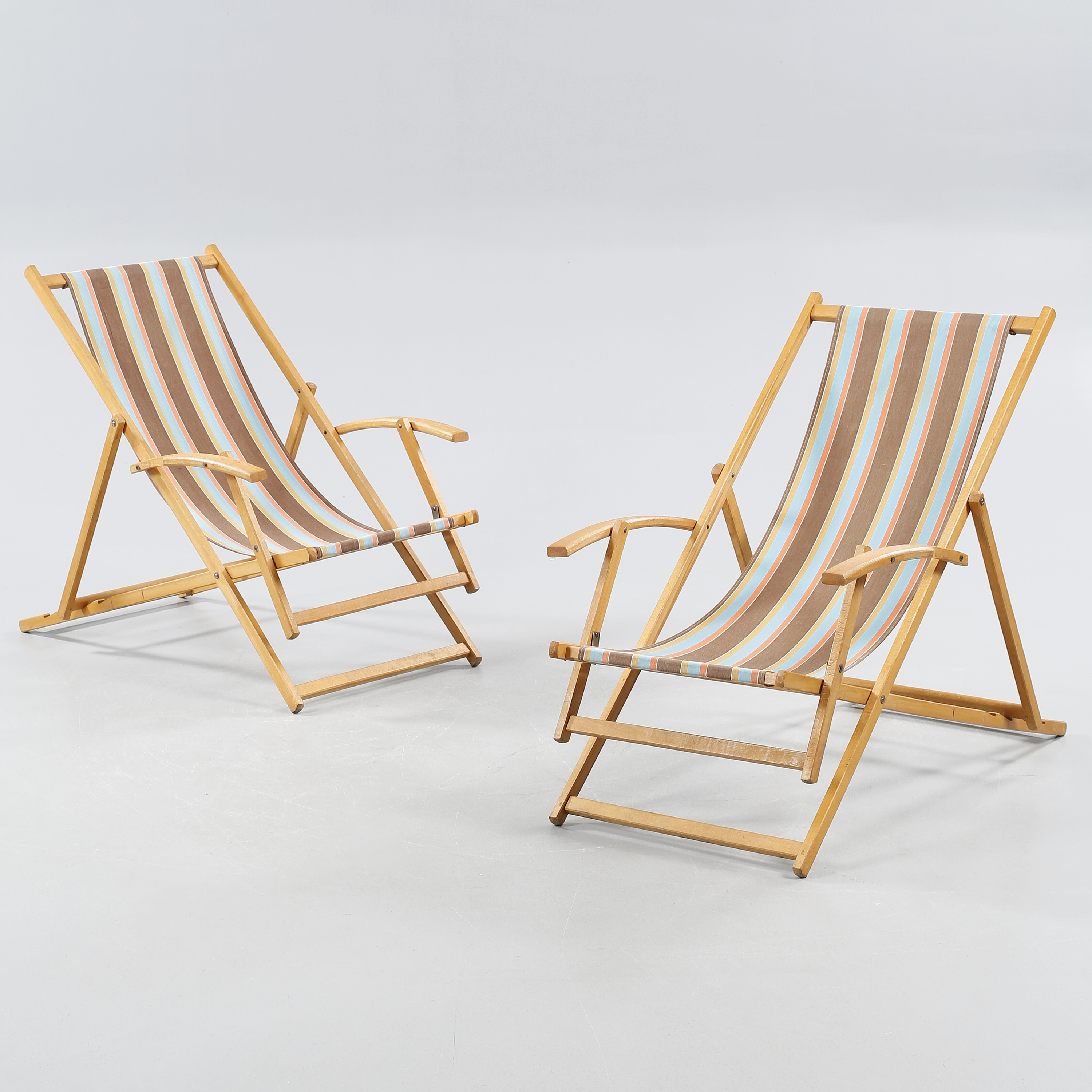 Sunbathing Chairs A Pair Of Sunbathing Chairs Second Half Of The 20th Century