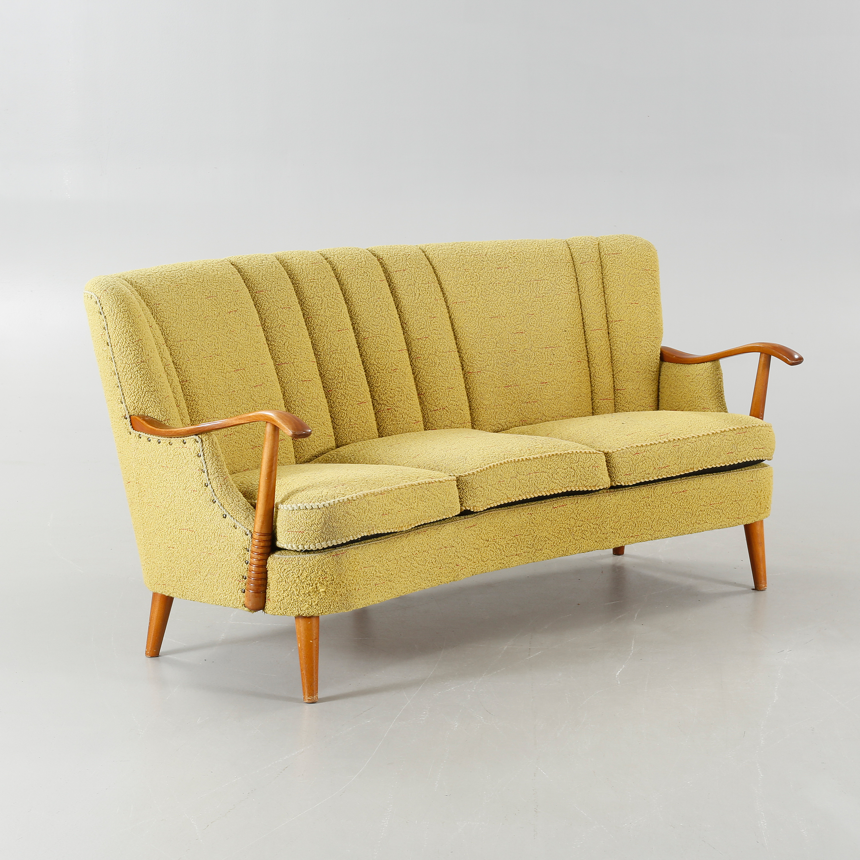 a sofa in the forties chateau d ax leather 1940s bukowskis