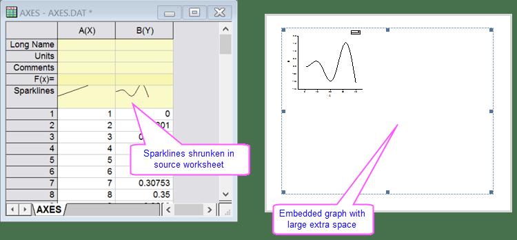 Faq exampleg also help online quick faq why are my graphs cut off rh originlab