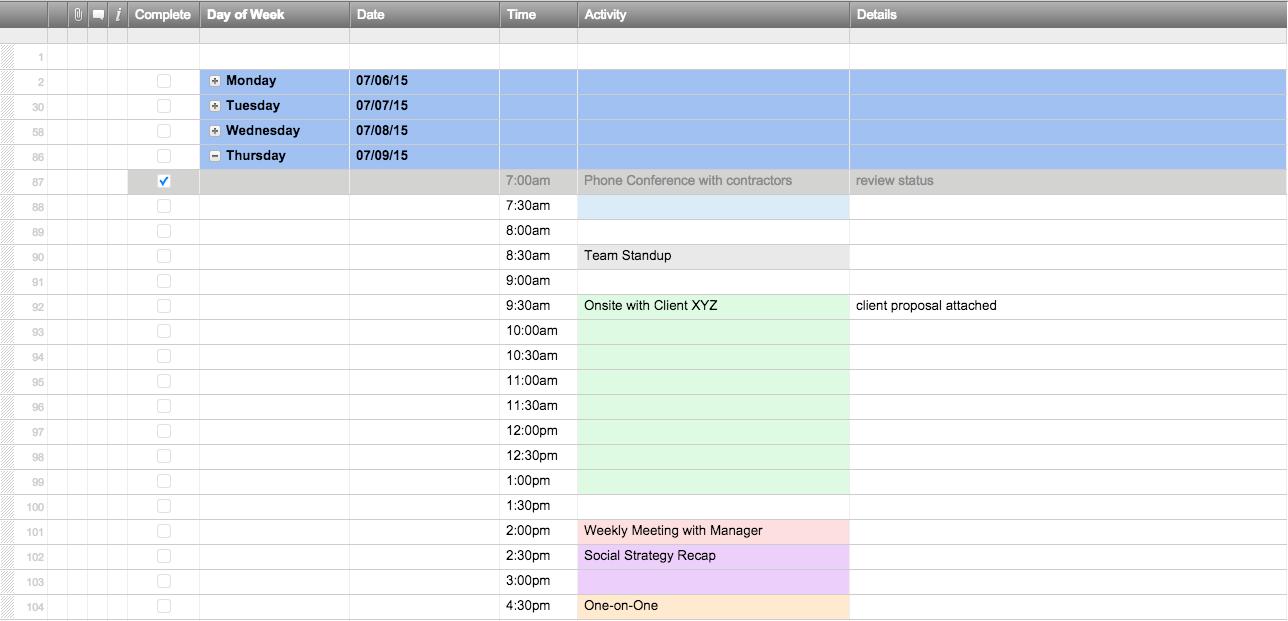 Generator Maintenance Format Log Sheet