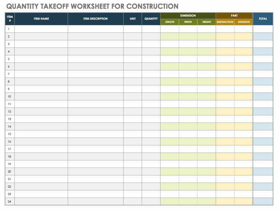 The Master Guide to Construction Bidding  Smartsheet