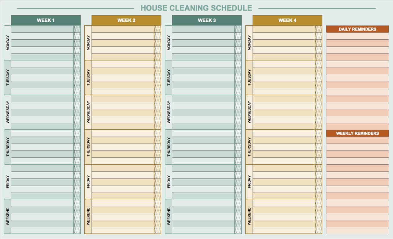 Blank Daily Checklist Template