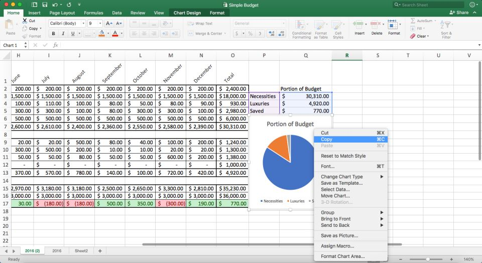 Step open your excel file the simple budget workbook that contains table chart and spreadsheet in select copy  range of also how to make word google sheets smartsheet rh