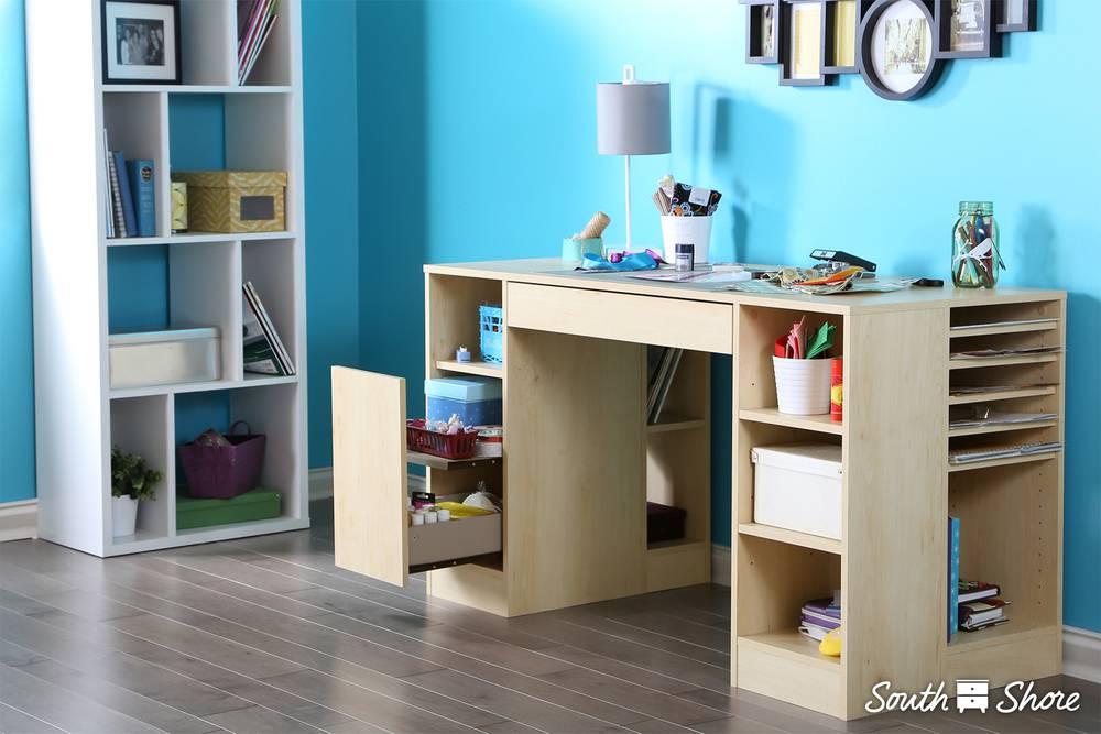 South Shore Crea Craft Table South Shore Furniture United States