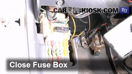 1991 mazda miata fuse box diagram minn kota trolling motor plug and receptacle wiring interior location 1989 1995 323 bg series 1 3l 4 cyl